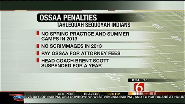 OSSAA Reinstates Sequoyah-Tahlequah Players