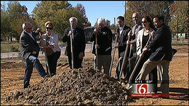 Cherokee Nation Breaks Ground On New Food Distribution Center