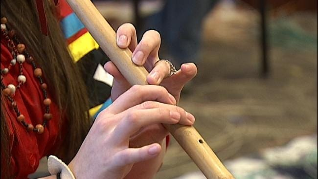 WEB EXTRA: Video From Native American Festival At RSU