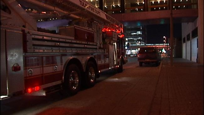 WEB EXTRA: Video From Scene Of Downtown Tulsa Fire Alarm