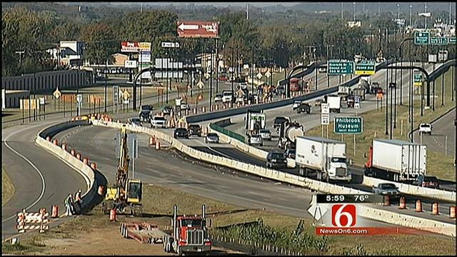 State Leaders, ODOT Celebrate Beginning Of Last Phase Of I-44 Widening Project