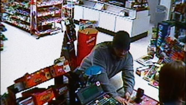 WEB EXTRA: Video Of EZ Mart Robbery In Tulsa