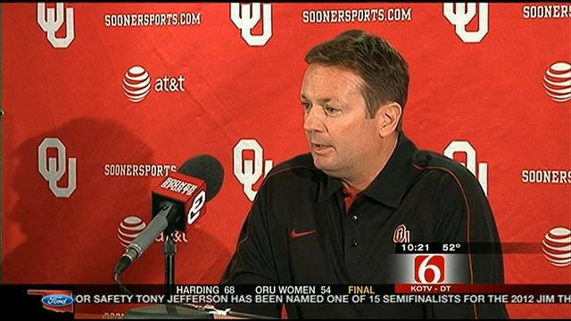 Sooners Get Back To Work After Loss To Notre Dame