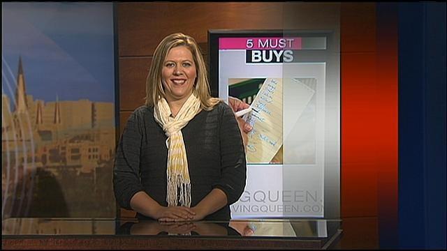Money Saving Queen Lists Five Must Buys