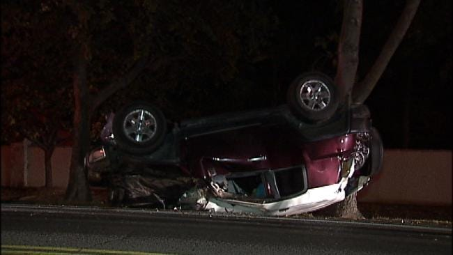 WEB EXTRA: Video From Scene Of Crash at 84th And Sheridan