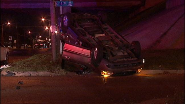 WEB EXTRA: Video From Scene Of Crash at 14th And Lewis