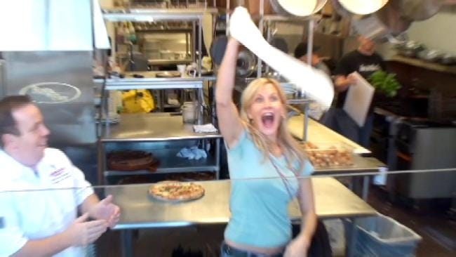 Fly The Coop: Making Pizza Dough