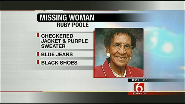 Pocola Woman Holding Out Hope Her Elderly Mother Will Be Found