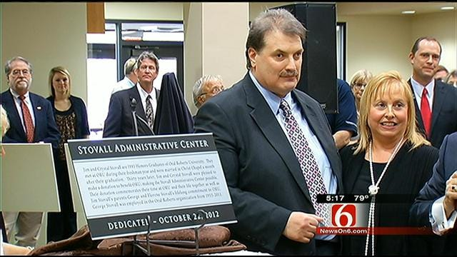 ORU Unveils Renovated Stovall Administration Center