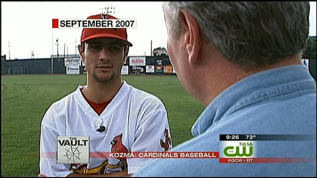 From The KOTV Vault: St. Louis Cardinal, Owasso Native Starting Out In 2007