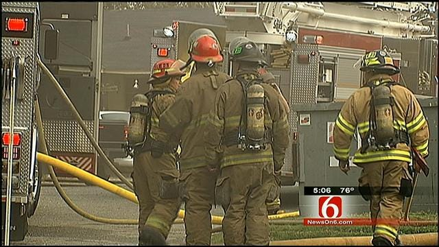 Residents Forced Out Of Their Tulsa Apartment Complex Due To Fire