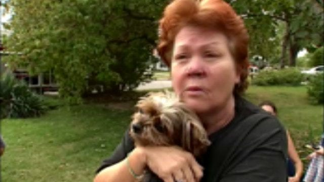 WEB EXTRA: Anita Todd Talks About Tulsa Firefighters Rescuing Her Pets