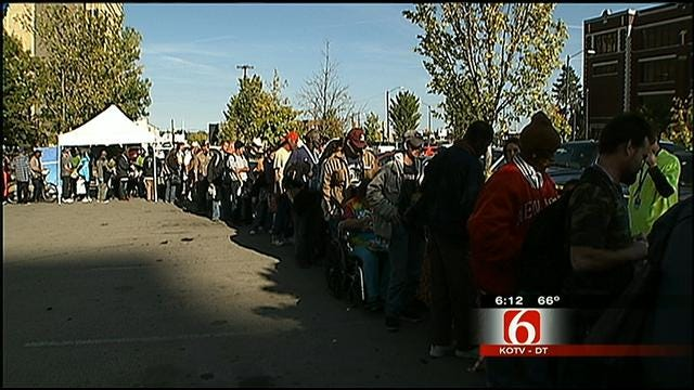 Local Agencies Come Together To Volunteer At Tulsa Soup Kitchen