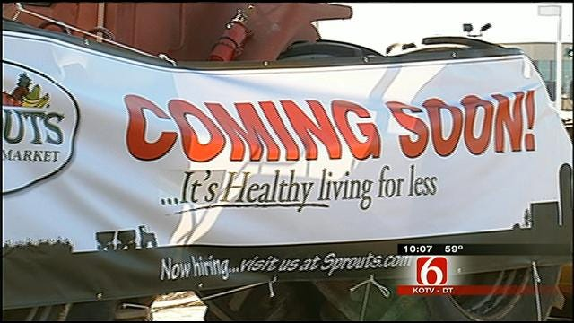New Sprouts Farmers Market Breaks Ground In Bixby