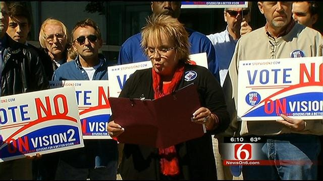 Vision2 Opponents Say Tax Is 'Blank Check' To County Government