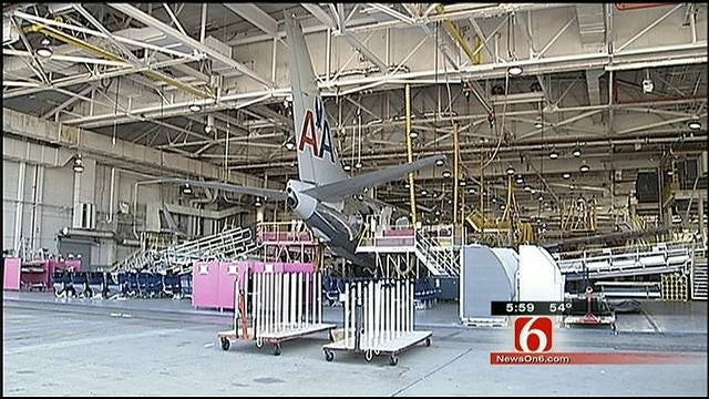 Number Of Tulsa American Airlines Workers To Lose Jobs: 140