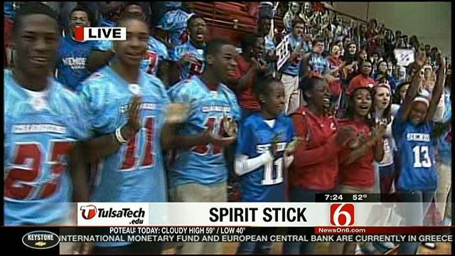 2012 Spirit Stick Week #6: Tulsa Memorial High School