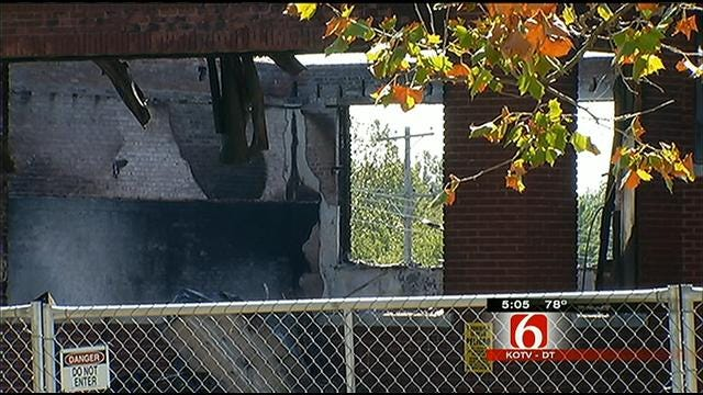 Demolition Planned For Tulsa School Destroyed By Fire