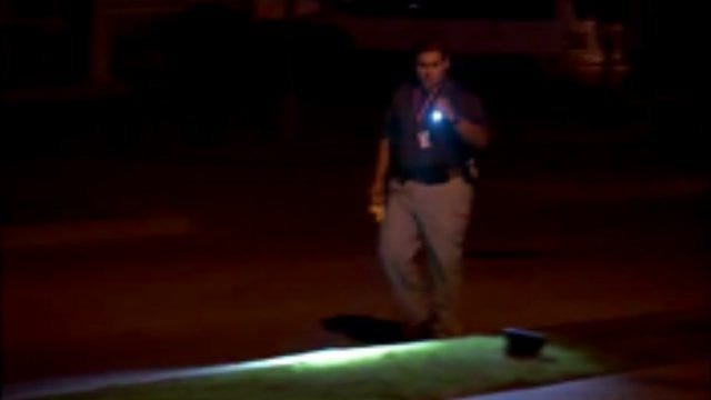WEB EXTRA: Video From Scene Of North Tulsa Gunshots Fired