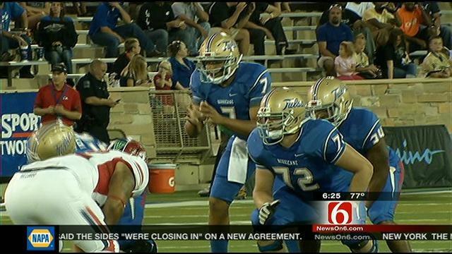 Tulsa Finding Success Running The Football