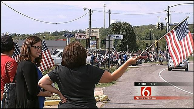 Body Of Claremore Soldier Killed In Afghanistan Returns Home