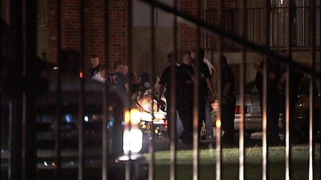WEB EXTRA: Video From Scene Of Fatal Shooting At South Tulsa Apartment Complex