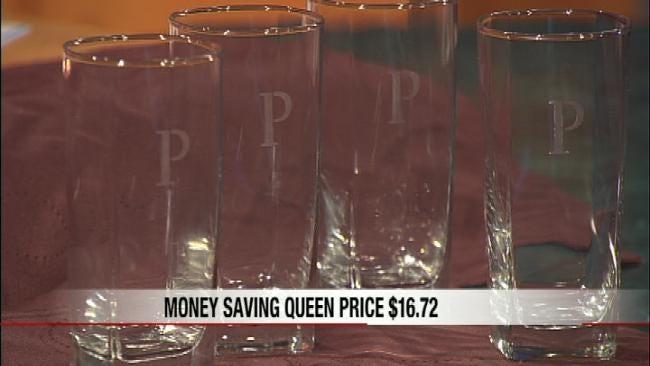 Money Saving Queen: DIY-Etched Glass