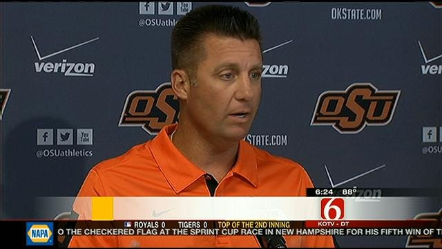 Gundy Gives Wes Lunt Update; Cowboys Prepare For Texas