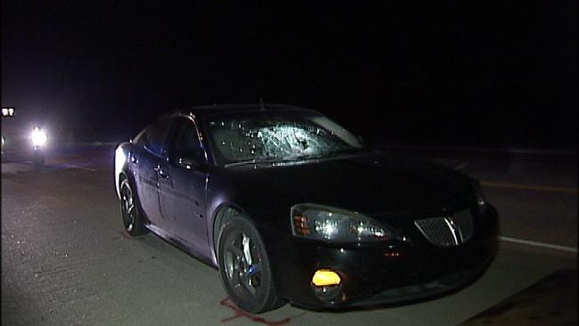 WEB EXTRA: Pedestrian Killed Crossing Rogers County Highway