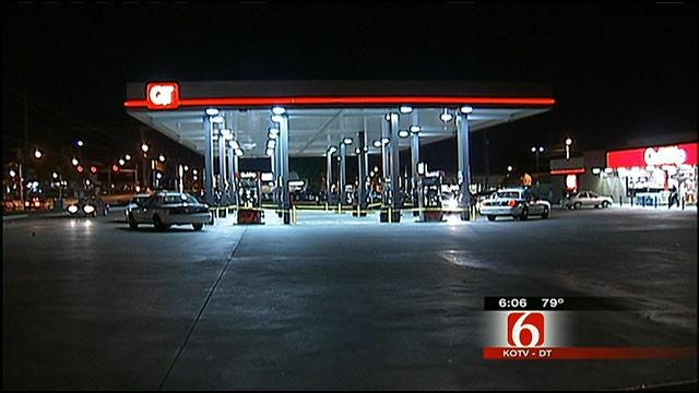 Driver Robs, Shoots Hitchhiker At Tulsa QuikTrip