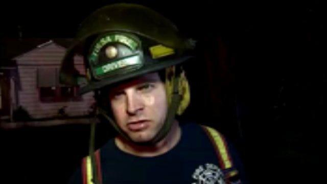 WEB EXTRA: Tulsa Firefighter John Cawyer Talks About Garage Fire