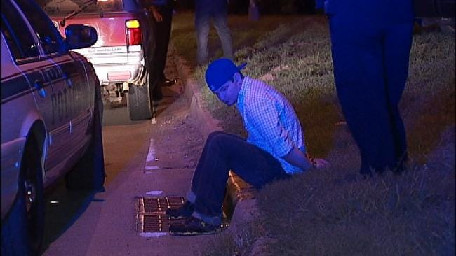 WEB EXTRA: Video From Scene Of Arrest Of Wrong Way Driver In Tulsa