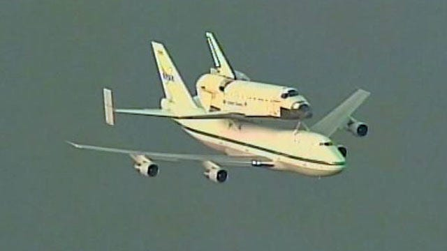WEB EXTRA: Space Shuttle Endeavor's Final Trip From Florida To California