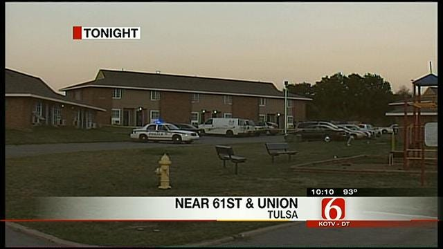 Police Search For Suspect After Fatal Shooting At West Tulsa Apartment Complex