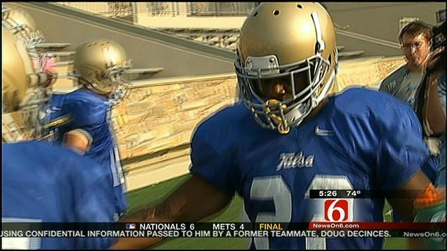 Highlights From Tulsa Saturday Scrimmage
