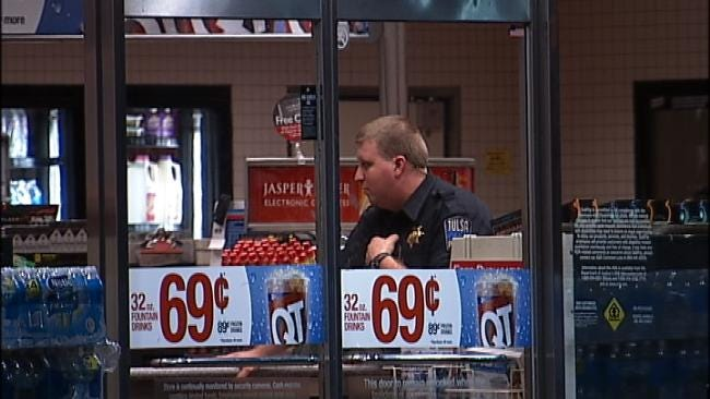 WEB EXTRA: Video From Scene Of QuikTrip Robbery At Admiral And Harvard