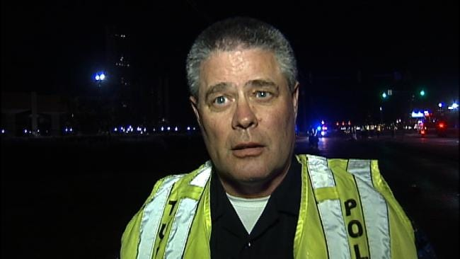 WEB EXTRA: Tulsa Police Sgt. Gary Otterstrom Talks About Crash