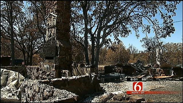 Creek County Assessor's Office Surveys Fire-Damaged Homes
