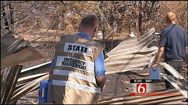 FEMA Begins Assessments In Creek County Wildfire Aftermath