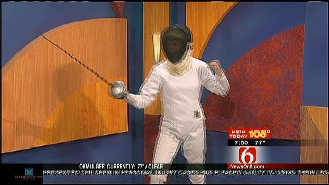 Olympic Fencing Demonstration