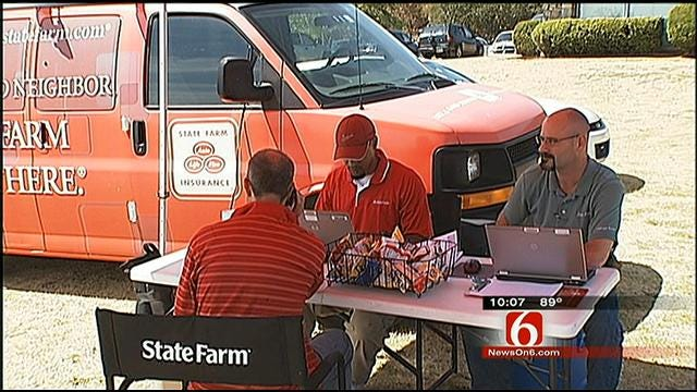 Insurance Companies Set Up In Creek County To Handle Fire Victims' Claims