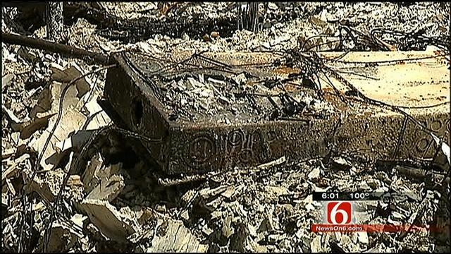 Tulsa Police Officer Lost Everything To Fire In Creek County