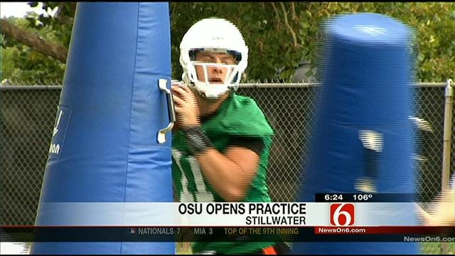 OSU First Practice Highlights