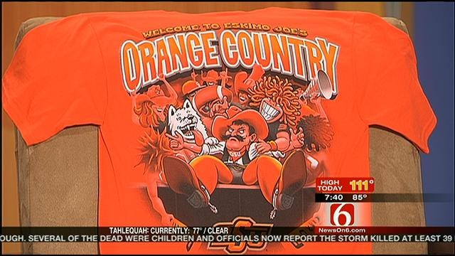 Eskimo Joe's Joins With Pistol Pete In New T-Shirt