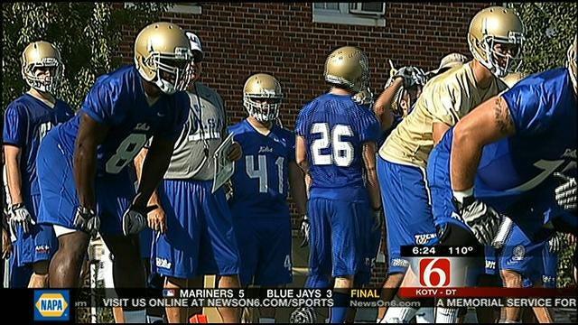 Tulsa Football Opens Practice