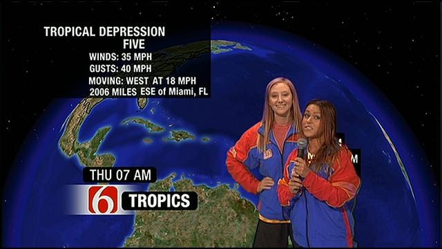 Weinermobile Girls Do The Weather With Alan Crone