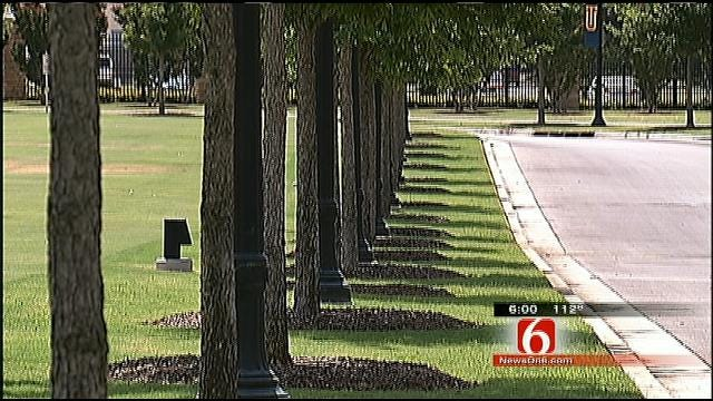 TU Conserves Water While Maintaining Expensive Landscape
