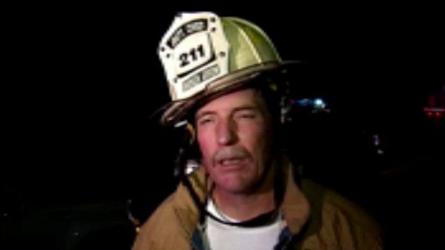 WEB EXTRA: Broken Arrow Battalion Chief Gerald Stroup Talks About House Fire