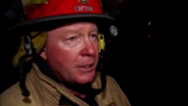 WEB EXTRA: Tulsa Fire Captain Jerry Benefield Talks About University Club Tower Apartment Fire
