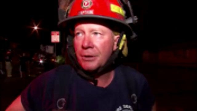 WEB EXTRA: Tulsa Fire Captain Jerry Benefield Talks About Lot A Burger Fire
